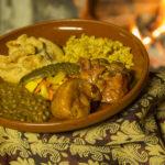 Röstitud kana maitsvate köögiviljadega lastele