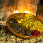 Блюдо из кабанины